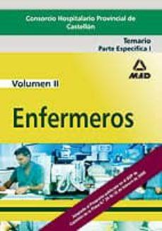 Cronouno.es Enfermeros Del Consorcio Hospitalario Provincial De Castellon: Te Mario Volumen Ii: Parte Especifica I Image