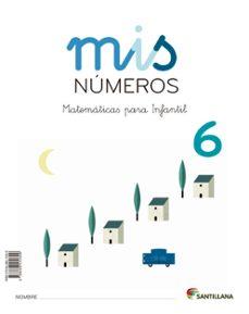 mis matematicas 6 (cuad + album)   infantil ed 2013 cast.-9788468015309