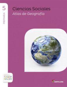 Garumclubgourmet.es Ciencias Sociales 5º Primaria + Atlas Saber Hacer Navarra Image