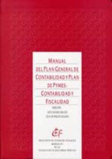 manual del plan general de contabilidad de pymes: contabilidad y fiscalidad-sixto alvarez melcon-9788480083409
