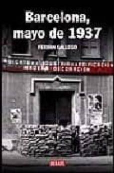 barcelona, mayo de 1937-ferran gallego-9788483067109