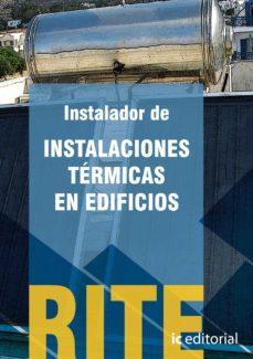 (i.b.d.)reglamento de instalaciones termicas en edificios - rite-9788483643709