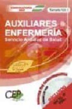 Javiercoterillo.es Temario Vol. I Oposiciones Auxiliares De Enfermeria Servicio Andaluz De Salud (Sas) Image