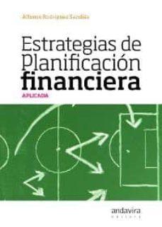 Valentifaineros20015.es Estrategias De Planificacion Financiera Aplicada, (Incluye Cd-r) Image
