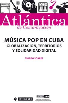 música pop en cuba (ebook)-thiago soares-9788491803409