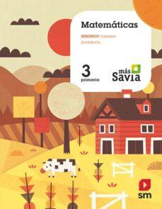 MATEMÁTICAS 3º EDUCACION PRIMARIA MAS SAVIA ED 2019 ANDALUCIA