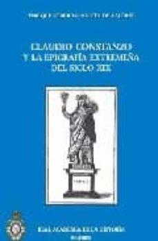 Valentifaineros20015.es Claudio Constanzo Y La Epigrafia Extremeña Del Siglo Xix Image