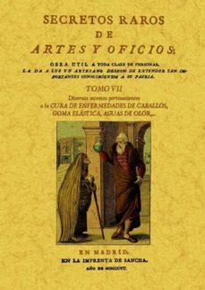 Kindle descarga de libros electrónicos ipad SECRETOS RAROS DE ARTES Y OFICIOS (TOMO 7) (ED. FACSIMIL)