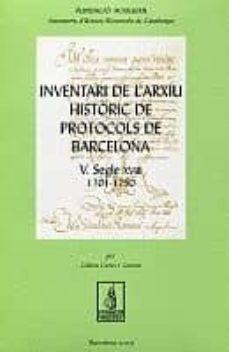 Bressoamisuradi.it Inventari De L Arxiu Historic: Protocols De Barcelona (2 Vol.) Image