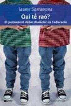 Upgrade6a.es Qui Te Rao? El Permanent Debat Dialectic En L Educacio Image
