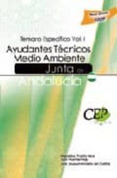 Curiouscongress.es Ayudantes Tecnicos Medio Ambiente Junta De Andalucia. Temario Esp Ecifico Vol. I Image