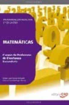 Bressoamisuradi.it Cuerpo De Profesores De Enseñanza Secundaria. Matematicas. Progra Macion Didactica 1º De La Eso Image