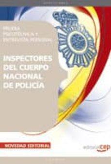 Ironbikepuglia.it Inspectores Del Cuerpo Nacional De Policia. Prueba Psicotecnica Y Entrevista Personal Image