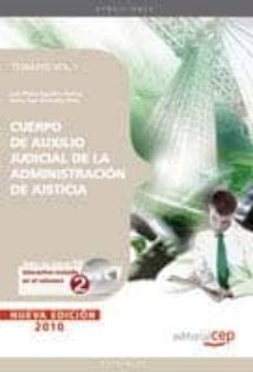 Eldeportedealbacete.es Cuerpo De Auxilio Judicial De La Administracion De Justicia. Tema Rio Vol. I. Image