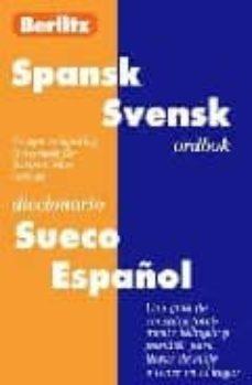 Descargar DICCIONARIO SUECO/ESPAÃ'OL - ORDBOK SPANSK/SVENSK gratis pdf - leer online