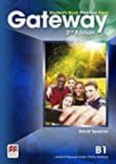 Descarga google books en pdf gratis. GATEWAY (2ND EDITION) B1 STUDENT S BOOK PREMIUM PACK FB2 RTF MOBI