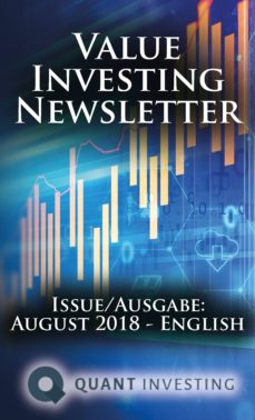 2018 08 value investing newsletter by quant investing / dein aktien newsletter / your stock investing newsletter (ebook)-tim du toit-9783964770219
