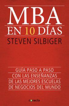 mba en 10 dias-steven silbiger-9788415431619