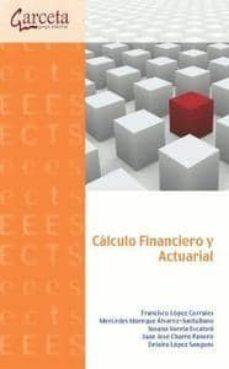 calculo financiero y actuarial-9788415452119
