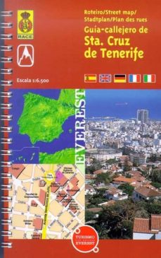 Chapultepecuno.mx Guia-callejero De Santa Cruz De Tenerife: 1:6500 Image