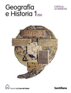Titantitan.mx Geografia E Historia (Castilla-la Mancha) (La Casa Del Saber) (1º Eso) Image