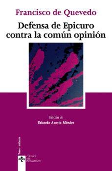 Ojpa.es Defensa De Epicuro Contra La Comun Opinion Image