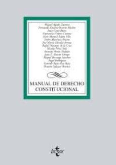 Relaismarechiaro.it Manual De Derecho Constitucional Image