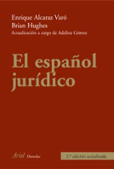 Descargar EL ESPAÃ'OL JURIDICO gratis pdf - leer online