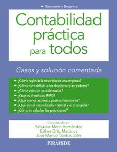 Descargar CONTABILIDAD PRACTICA PARA TODOS gratis pdf - leer online