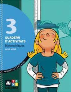 Javiercoterillo.es Matemàtiques 3 (Quadern) (Projecte Tram) Image