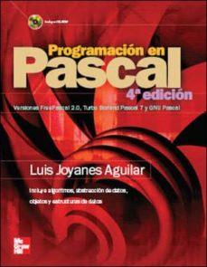 programacion en pascal (4ª ed.)-luis joyanes aguilar-9788448150419