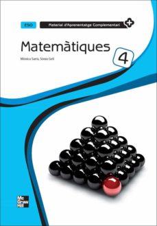 matematiques 4 eso quadern  material d aprenentatge complementari-9788448181819