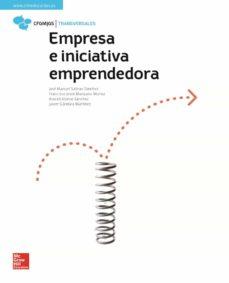 empresa e iniciativa emprendedora. edición 2018-jose manuel salinas sanchez-9788448614119