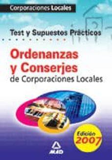 Permacultivo.es Ordenanzas Y Conserjes De Corporaciones Locales. Test De Temario General Y Supuestos Practicos Image