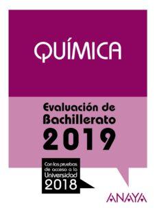 Descargar QUIMICA: EVALUACION DE BACHILLERATO 2019 gratis pdf - leer online