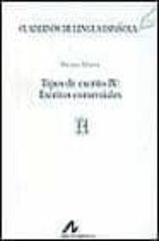 tipos de escrito iv: escritos comerciales-miriam alvarez-9788476352519