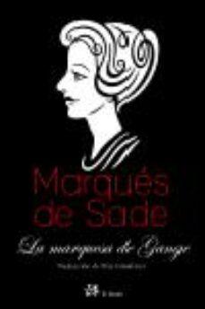 la marquesa de gange-marques de sade-9788476697719