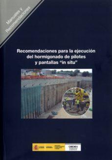 Permacultivo.es Recomendaciones Para La Ejecucion Del Hormigonado De Pilotes Y Pa Ntallas In Situ Image
