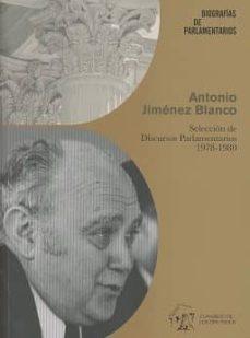Eldeportedealbacete.es Antonio Jiménez Blanco. Selección De Discursos Parlamentarios 1978-1980 Image