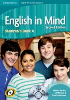 Portal de descarga de libros electrónicos gratis ENGLISH IN MIND FOR SPANISH SPEAKERS LEVEL 4 STUDENT S BOOK WITH DVD-ROM  (2ND EDITION)