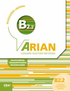 Descargar ARIAN B2.2 IKASLEAREN LIBURUA gratis pdf - leer online
