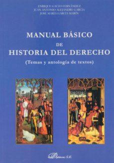 Chapultepecuno.mx Manual Básico De Historia Del Derecho Image
