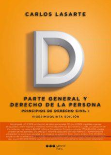 Noticiastoday.es Principios De Derecho Civil - Tomo I: Parte General Y Derecho De La Persona (25ª Ed) Image