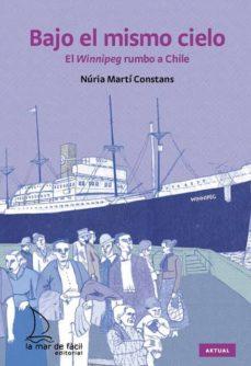 Libros de descargas gratuitas en pdf. BAJO EL MISMO CIELO: EL WINNIPEG RUMBO A CHILE 9788493767419 (Literatura española) de NURIA MARTI CONSTANS