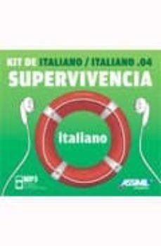 italiano, kit de supervivencia (libreto + cd mp3)-ela strieder-9788496481619