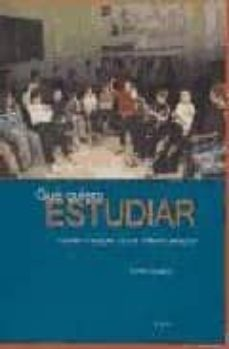 que quiero estudiar: cuaderno soporte para la reflexion personal: la orientacion formativa del joven-teofilo solana-9788497462419