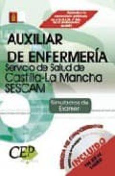 Viamistica.es Simulacros De Examen Oposiciones Auxiliar De Enfermeria. Servicio De Salud De Castilla-la Mancha (Sescam) Image