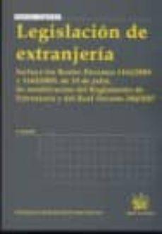 Permacultivo.es Legislacion De Extranjeria (4ª Edicion) Image