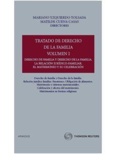 Costosdelaimpunidad.mx Tratado De Derecho De Familia, Vol. I: Derecho De Familia Y Derec Ho De La Familia. La Relacion Juridico-familiar. El Matrimonio Y Su Celebracion Image