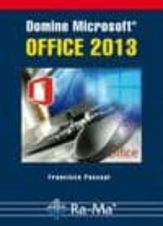 Descargar DOMINE MICROSOFT OFFICE 2013 gratis pdf - leer online